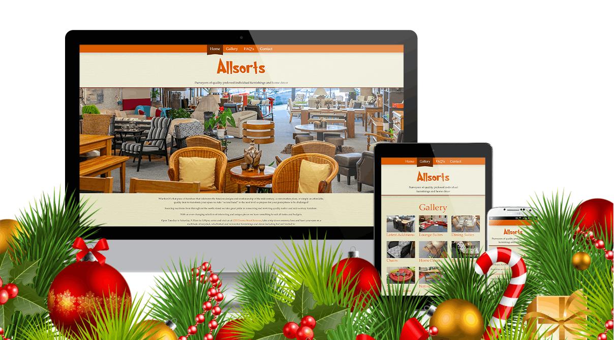 Karácsonyi honlapkészítés és keresőoptimalizálás akció