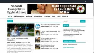 Nádasdi evangélikus gyülekezeti honlap