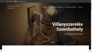 Szombathelyi villanyszerelő honlapja