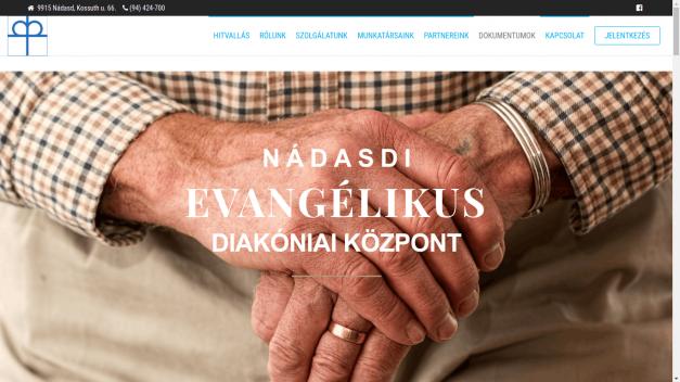 Evangélikus diakóniai szolgálat honlapja