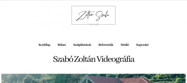 Szabó Zoltán Videográfia